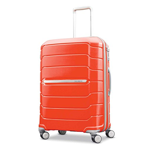 Samsonite Checked-Medium, Tangerine ()