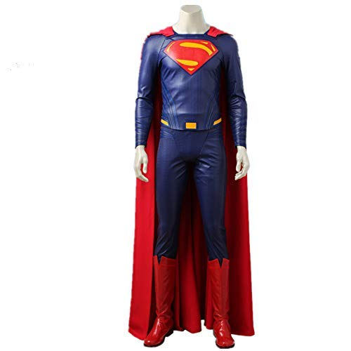Superman Clark Kent Cosplay Costume Justice League Outfit Movie Superhero Clothes Halloween (Custom Made) ()