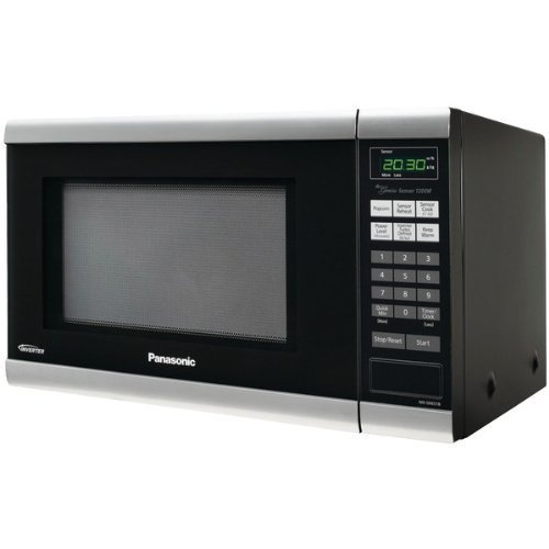 Panasonic NN-SN651B  Countertop Microwave Oven with Inverter Technology, 1.2 Cu. Ft, 1200W, Black