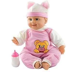 Amazon Com Meiyie 16 Quot Cuddle Lifelike Baby Play Doll Soft