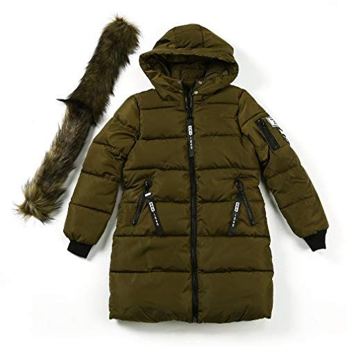 Rembourré de et XL Militaire Vert Coton Sunnyday Warm Coat Taille avST6T