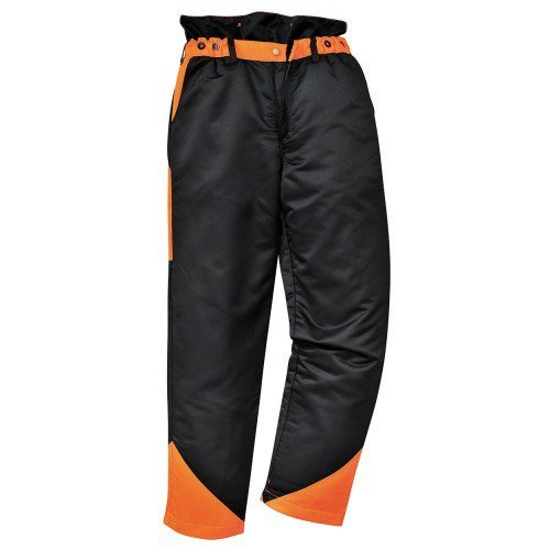 Pro-Safe Chainsaw Protection Safety Trousers Type A, Size L Large 36'-38' Waist Size L Large 36-38 Waist Pro Safe
