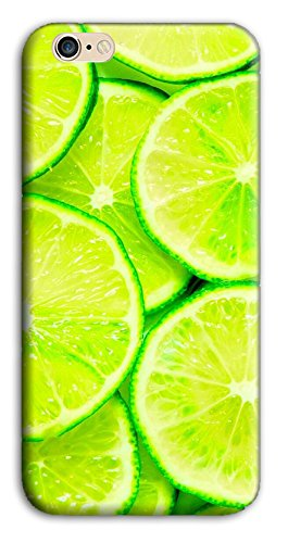 Mixroom - Cover Custodia Case In TPU Silicone Morbida Per Apple Iphone 5c M3522 Fette Di Lime