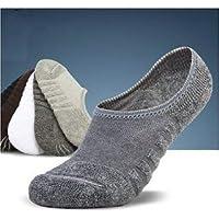 Aryan Traders Men cotton Invisible Socks Spring Summer Casual Non-slip Socks-2 Pair