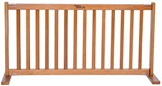 product image for Amish Handcrafted KensingtonWood and Wire Free Standing Pet Gate