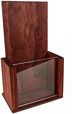 Dryden Trading Company Porta folletos de madera triple. Es ...
