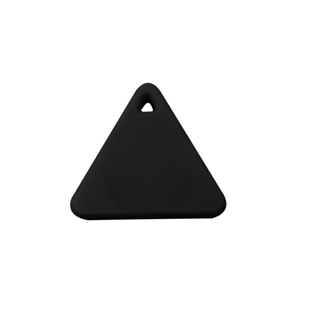 Gotd Bluetooth Mini GPS Tracker Locator Alarm Pet Child Wallet Key Finder (Black)