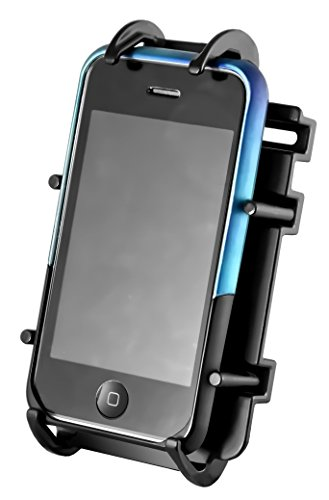 RAM MOUNTS (RAM-HOL-PD3U Universal Spring Loaded Cell Phone Cradle Holder by RAM MOUNTS