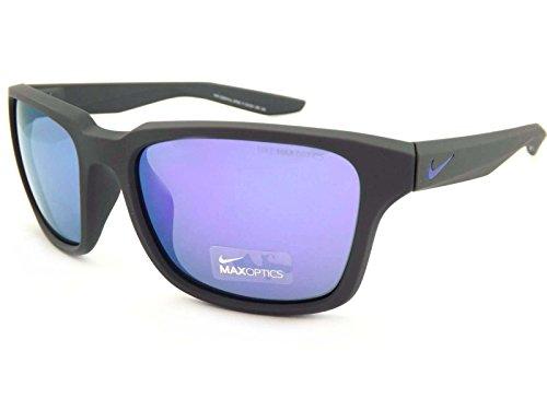 Nike Sonnenbrille (NIKE ESSENTIAL SPREE R EV1004) MT ANTHRA W/GRY VIO FL LENS