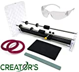 Creator's Bottle Cutter - Celebrate July Fourth with USA Made - Trusted, Reliable, Loved - Cuts Glass Wine/Beer/Liquor Bottles - Consumer's Choice Rated Number One Best in The World - Made in The USA