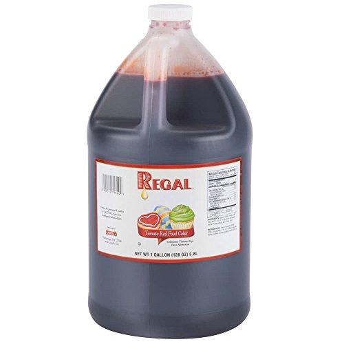 Tomato Red Food Coloring - 1 Gallon (Best Red Food Colouring)