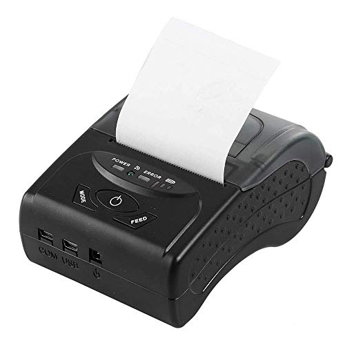 WSMLA Black Portable Thermal Copier Printer Mini Wireless for sale  Delivered anywhere in Canada