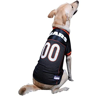 NFL Chicago Bears Navy Blue Mesh Pet Football Jersey
