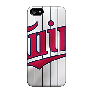 Protector Hard Cell-phone Cases For Iphone 5/5s With Provide Private Custom Stylish Minnesota Twins Image JohnPrimeauMaurice