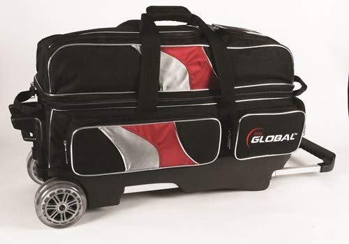 900 Global 3-Ball Deluxe (Black/Red/Silver)