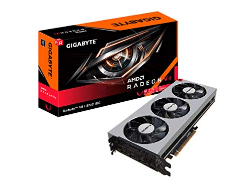 (GIGABYTE Radeon VII HBM2 16GB 4096-Bit HBM2 PCI Express 3.0 X 16 DirectX 12 ATX Video Card- Gv-RVEGA20-16GD-B)