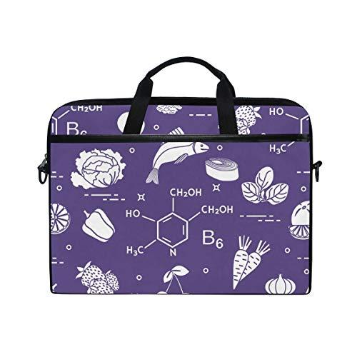 Foods Rich in Vitamin B6 Laptop Shoulder Messenger Bag 15.4 Inch Carrying Handbag