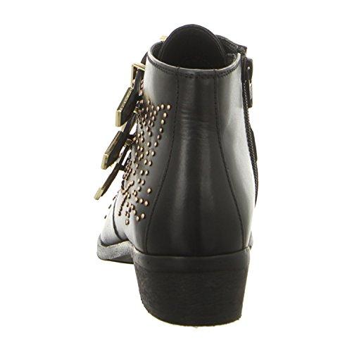 Bronx 43771-d-231 - Botas de Piel para mujer Negro / Dorado