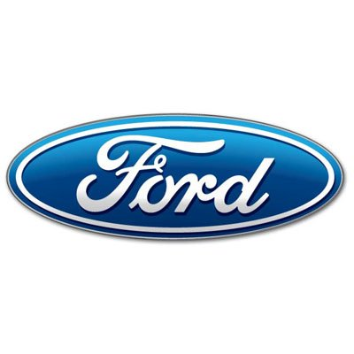 Ford car racing emblem Vynil Car Sticker Decal - Select Size