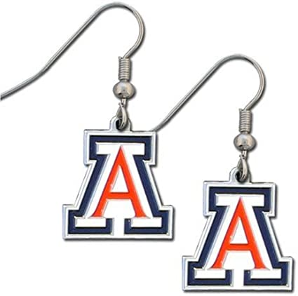 NCAA Siskiyou Sports Womens Mississippi State Bulldogs Crystal Dangle Earrings One Size Team Color