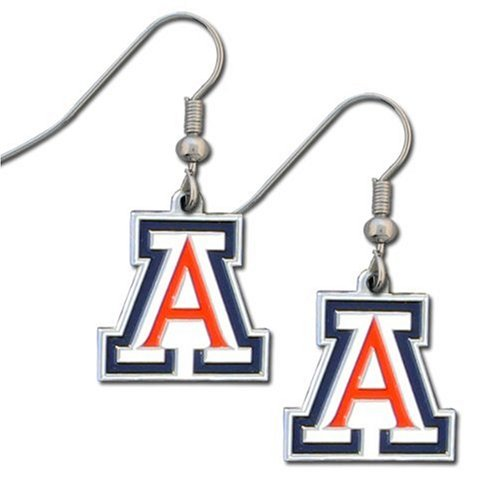 NCAA Arizona Wildcats Dangle Earrings Arizona Wildcats Wildcat Ring