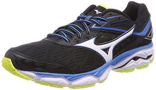 Zapatillas para Ultima Wave Running de 9 Negro Mizuno Hombre Ft1wY