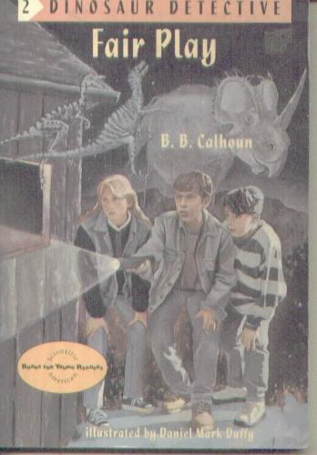 full dinosaur detective book series by b b calhoun daniel m duffy