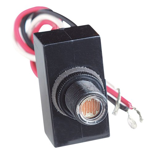 Sigma Electric 14008 Mini Button Dusk to Dawn Sensor with Leads by Sigma Electric