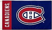 Montréal Canadiens Team NHL National Hockey League 100% Polyester Indoor Outdoor 3 feet x 5 feet Flag (Name Fl