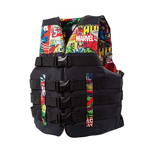 Body Glove Vest Nylon - Body Glove Marvel Method Nylon Adult Men Women Life Jacket Vest, Large/X Large (2 Pack)