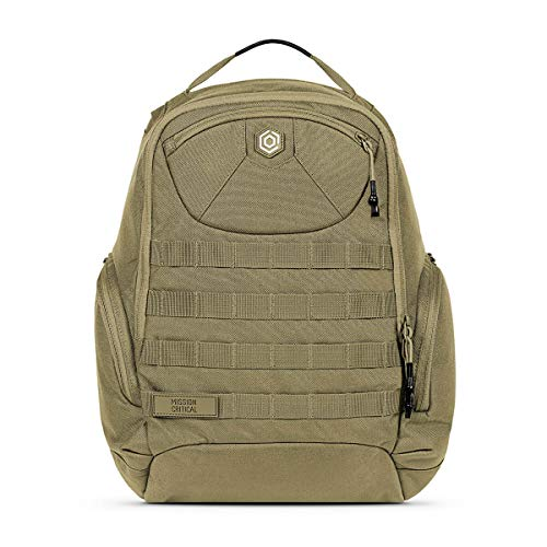 Mission Critical   S.01 Action Daypack Zip   Baby Gear for Dads   Wearable or Connects to Carrier   Coyote