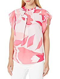 Women's Pleated Front Blouse