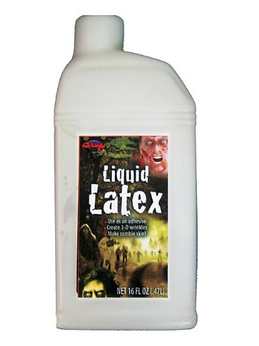 [Liquid Latex (16 Fluid Ounces)] (2 Person Halloween Costume)