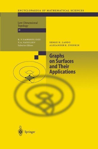 Download Graphs on Surfaces and Their Applications: Vol 141 (Encyclopaedia of Mathematical Sciences) Pdf