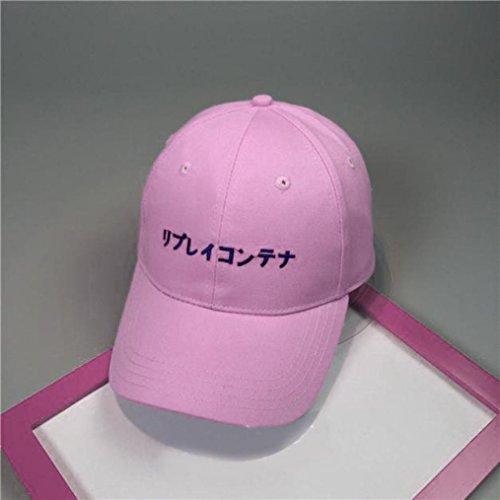 Lovely Yesmile Sombrero Gorra de Béisbol Del Algodón de La Letra del  Bordado Gorras Snapback Sombreros 4e18baf9bb6
