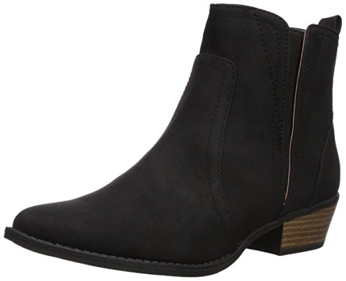 Qupid Women's Sochi-120 Ankle Boot Black 9dsXNBDgt7