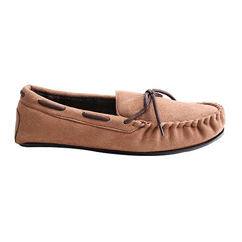 Men's Slipper Men's Indoor Slipper WILLIAM&KATE Men's Simple Casual Comfortable Walking Shoes WK160902 Brown pKs2c1f