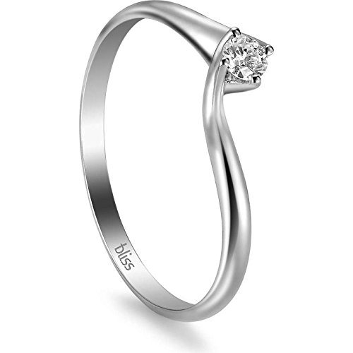 Bague Bliss Romantico 20060688 or blanc diamant