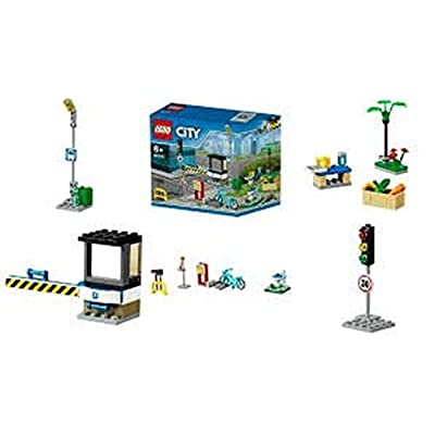 LEGO City 40170 Build My City Accessory Set: Toys & Games