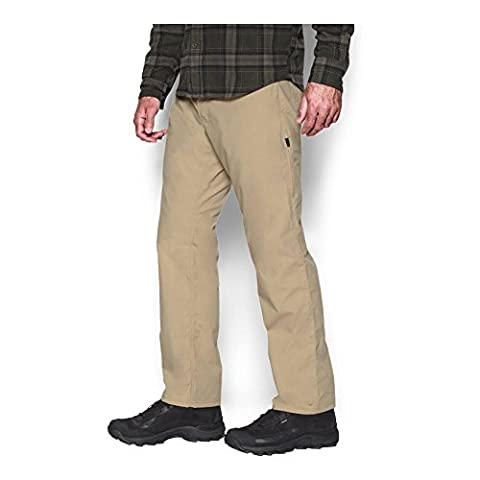 Under Armour Men's Storm Covert Tactical Pants, Enamel/Saddle, 36/32