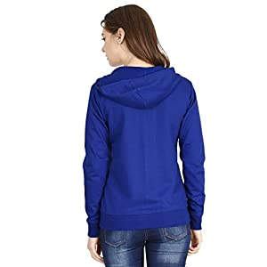 FLEXIMAA Women's Cotton Hooded Hoodie