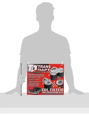 Trans-Dapt 1220 Oil Filter Relocation Kit by Trans-Dapt Performance (Image #2)