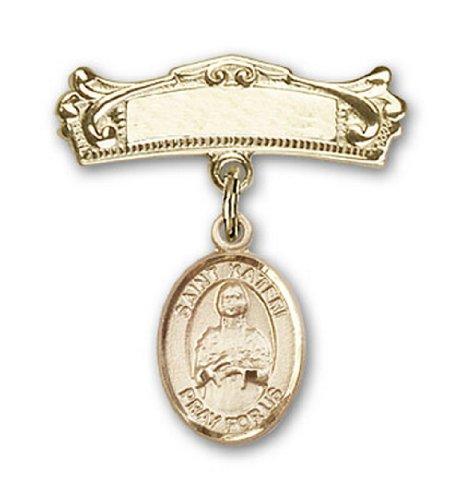 Icecarats Or Bijoux De Créateurs Rempli R. Charme Kateri Broches Badge Arc 7/8 X 3/4