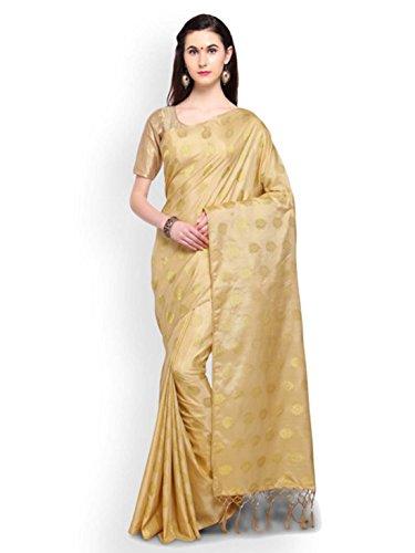 Indian Woven Handicrfats Cotton Silk Gold Export Colors Saree toned Design 00Bwqrx