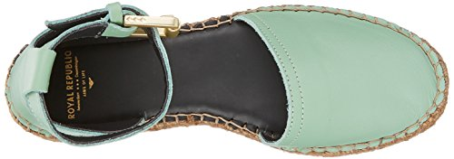 Chiusa 13 cambridge Blue Cambr Donna Republiq Sandal Wayfarer Verde Punta Royal nHqYwAaBC