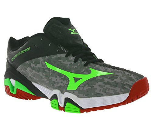 Mizuno Intense Wave Tour Tennis Ac 2 Black Scarpe Da 55rqPwFAn