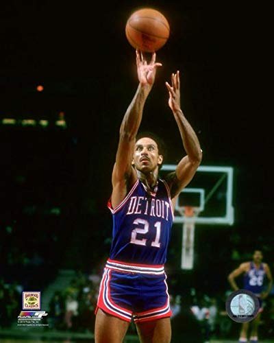 (Dave Bing Detroit Pistons NBA Action Photo (Size: 8