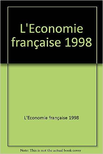 Livre L'économie française 1998 pdf