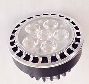 LED MR 16Premium 6,5W, 50.000h, 2700K luz blanca cálida–a prueba de agua paisaje bombilla
