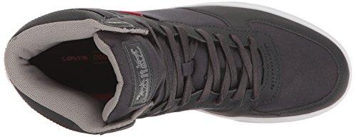 Levis Mens Jeffrey Hi Commuter Fashion Sneaker Navy/Grey aZk2fVVzVg